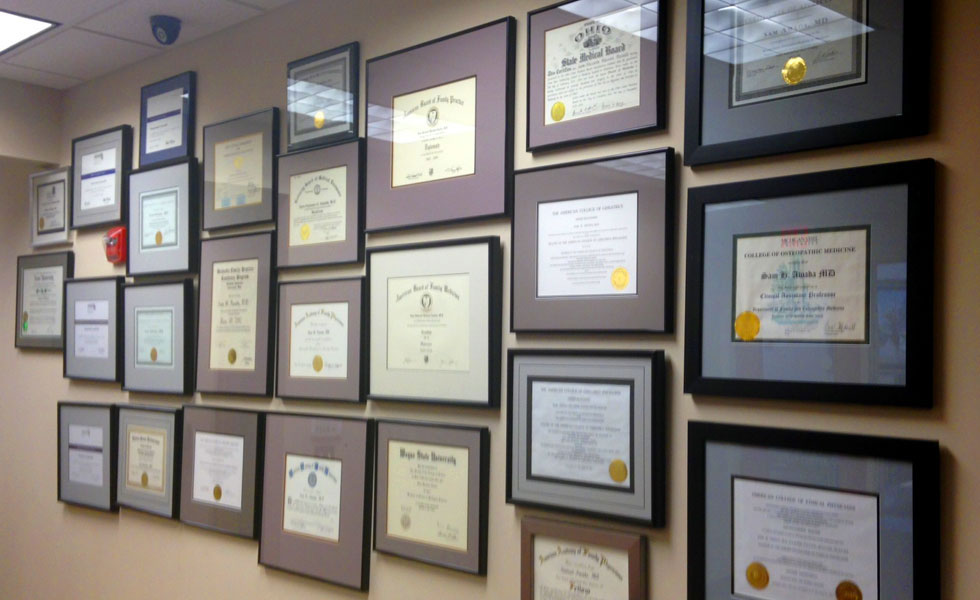 Sam Awada MD Is Certified And Extensively Trained